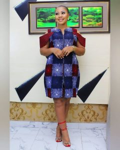 ankara styles for office